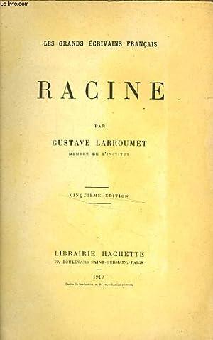RACINE: LARROUMET Gustave