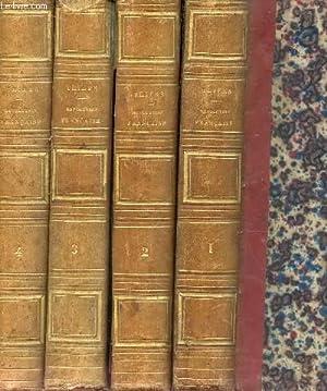 HISTOIRE DE LA REVOLUTION FRANCAISE - EN 4 VOLUMES - COMPLET / TOMES I + I +III +IV / ...