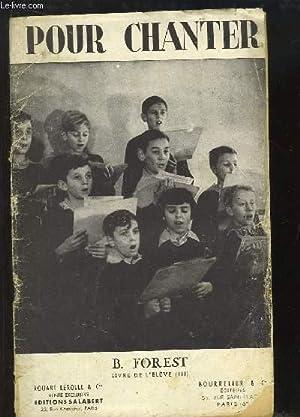"""Pour chanter """" L'enseignement par le chant"""" - Livre de l'élève, ..."""