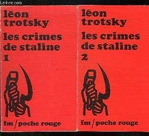 2 TOMES. LES CRIMES DE STALINE .: TROTSKI LEON.