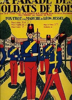 LA PARADE DES SOLDATS DE BOIS: JESSEL Léon