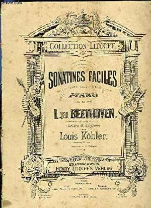 SONATINES FACILES POUR PIANO: BEETHOVEN
