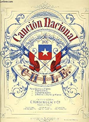 CANCION NATIONAL DE CHILE: INCONNU
