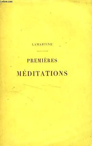 PREMIERES MEDITATIONS POETIQUES: LAMARTINE Alphonse de