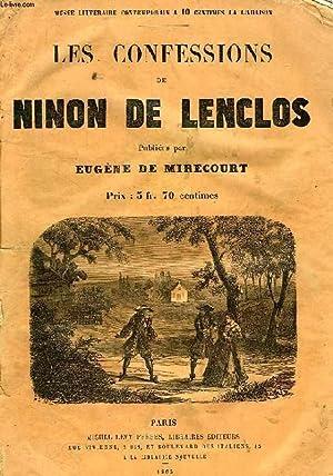 LES CONFESSIONS DE NINON DE LENCLOS: LENCLOS NINON DE, Par E. DE MIRECOURT