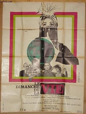 AFFICHE DE CINEMA - LE DIMANCHE DE LA VIE: DANIELLE DARRIEUX