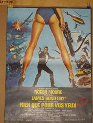 AFFICHE DE CINEMA - JAMES BOND 007 RIEN QUE POUR VOS YEUX ( FOR YOUR EYES ONLY)