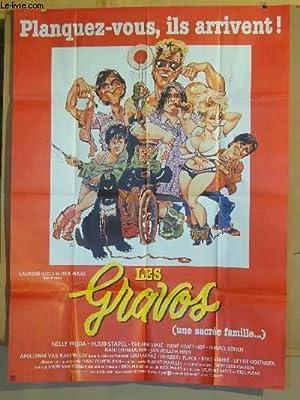 AFFICHE DE CINEMA - LES GRAVOS (UNE SACREE FAMILLE.): NELLY FRIKDA - HUUB STAPEL - TATJANA SIMIC