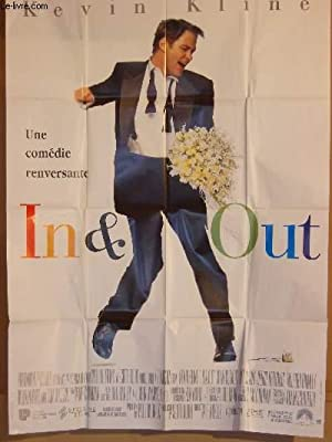 AFFICHE DE CINEMA - IN & OUT: KEVIN KLINE - JOAN CUSAK - MATT DULON
