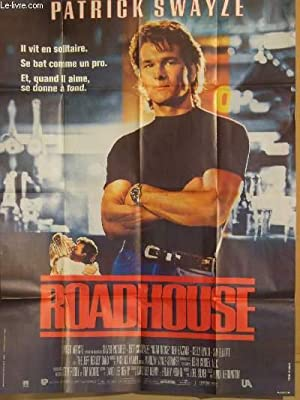 AFFICHE DE CINEMA - ROAD HOUSE
