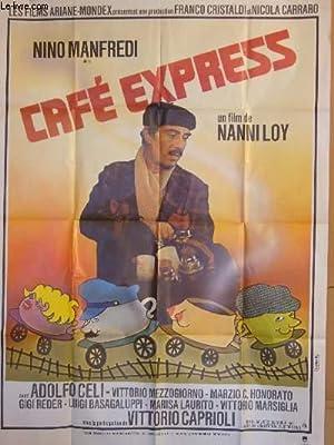 AFFICHE DE CINEMA - CAFE EXPRESS: NINO MANFREDI -