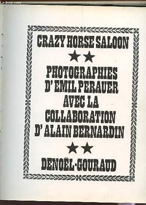 CRAZY HORSE SALOON.: PERAUER EMIL / BERNARDIN ALAIN