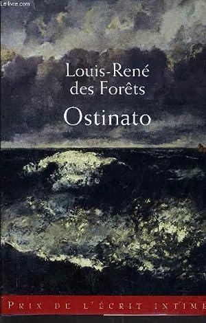 """Résultat de recherche d'images pour """"ostinato louis rené des forêts couverture"""""""