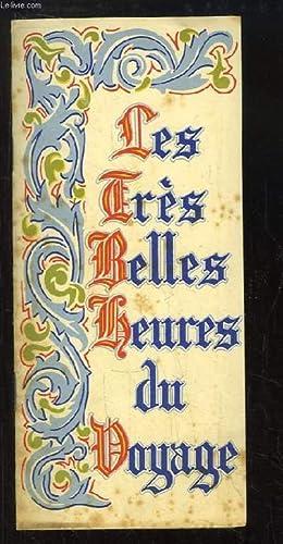"""Plaquette """"Les Très Belles Heures du Voyage"""": COLLECTIF"""
