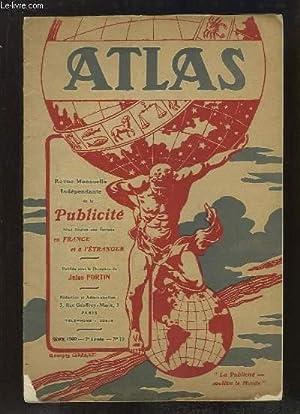 Atlas N°12 - 2e année : Le Follow-up- Systèm - La Publicité en France, les...