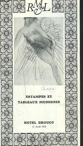 ESTAMPES ET TABLEAUX MODERNES. AFFICHES DE TOULOUSE: Mes LAURIN, GUILLOUX,