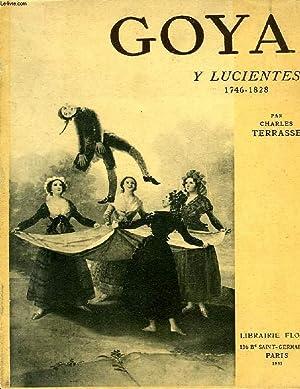 GOYA Y LUCIENTES, 1746-1828: TERRASSE Charles