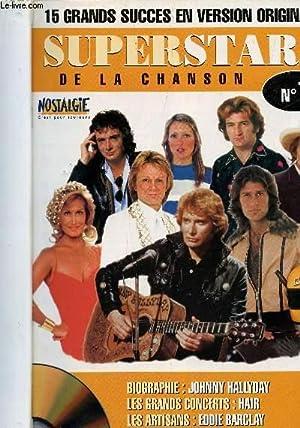 """SUPERSTARS DE LA CHANSON - 10 NUMEROS DU N°1 AU N°10 / COLLECTION """"15 GRANDS ..."""