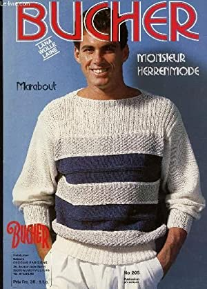 BUCHER, MONSIEUR HERRENMODE / N°205 - CAHIER DE TRICOT.: COLLECTIF