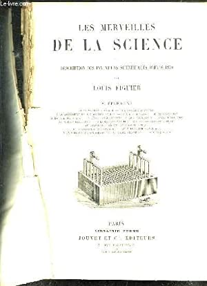 LES MERVEILLES DE LA SCIENCE OU DESCRIPTION DES INVENTIONS SCIENTIFIQUES DEPUIS 1870 SUPPLEMENT: LA...