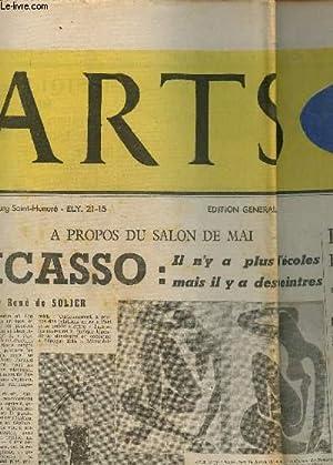 ARTS - SPECTACLES / DU 15 AU 21 MAI 1953 - N°411 / A PROPOS DU SALON DE MAI - PICASSO...
