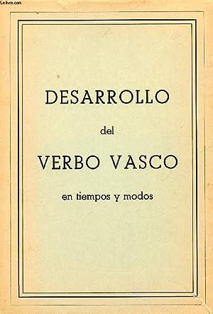 DESARROLLO DEL VERBO VASCO EN TIEMPOS Y MODOS: COLLECTIF