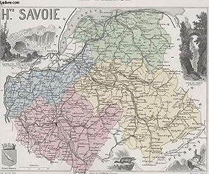 GRAVURE 19eme COULEURS - LA FRANCE - HAUTE SAVOIE - PLANCHE N°71 TER