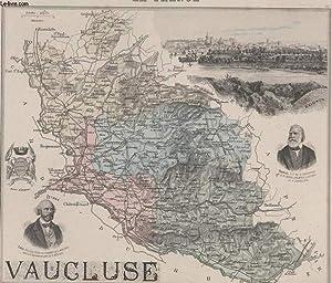 GRAVURE 19eme COULEURS - LA FRANCE - VAUCLUSE - PLANCHE N°81