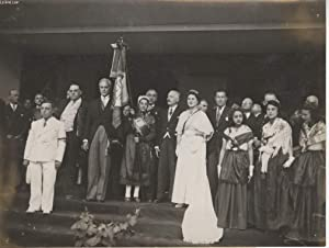 PHOTO ANCIENNE SITUEE - LE PRESIDENT DE LA REPUBLIQUE A MONTPELLIER