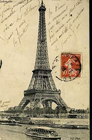 carte postale paris la tour eiffel - AbeBooks