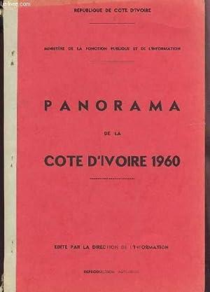 PANORAMA DE LA COTE D'IVOIRE - ANNEE 1960.: REPUBLIQUE DE LA COTE D'IVOIRE