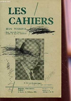 LES CAHIERS JEAN TOUSSEUL /: TOUSSEUL JEAN / BONNAMI J.P. ETC.