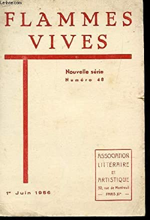 FLAMMES VIVES - NUMERO 48 - 1er: COLLECTIF