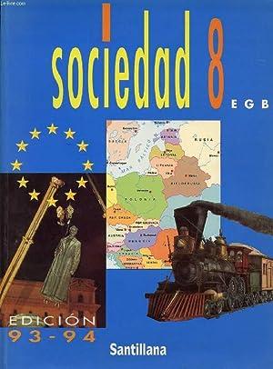 SOCIEDAD, 8 EGB: COLLECTIF
