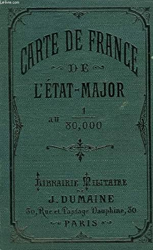 CARTE DE FRANCE DE L'ETAT-MAJOR AU 1/80 000e, 150, THONON: COLLECTIF