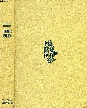 LEYENDAS DE CRISTO: LAGERLÖF Selma