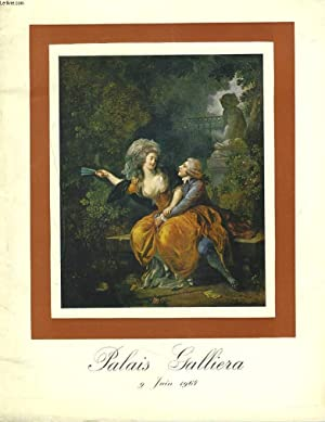 COLLECTION A. L. TABLEAUX ANCIENS. OEUVRES IMOPRTANTES: Mes MAURICE ET