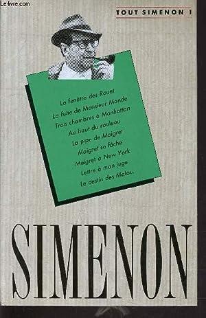 TOUT SIMENON - TOME 1 : LA: SIMENON GEORGES