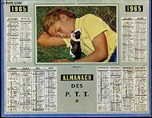 CALENDRIER - AMANACH DES P.T.T. - FARNIENTE: COLLECTIF