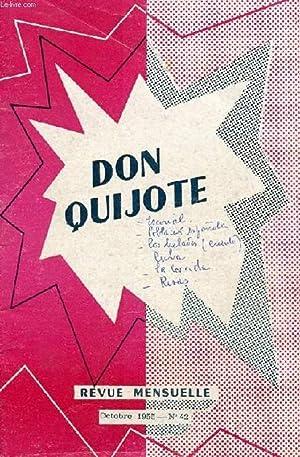 don quijote revue mensuelle pour apprendre a lire l 39 espagnol couramment n 42 oct 1955 el