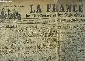La France, de Bordeaux et du Sud-Ouest, du19 avril 1903: LAPORTE & COLLECTIF