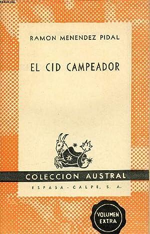 EL CID CAMPEADOR, COLECCIÓN AUSTRAL, N° 1000: MENENDEZ PIDAL R.