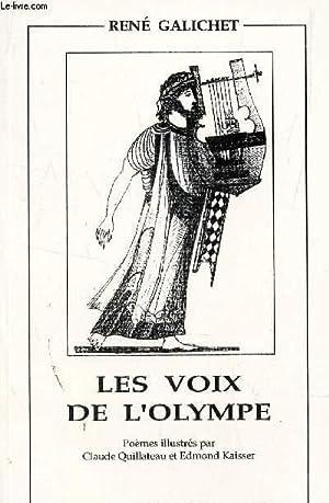LES VOIX DE L'OLYMPE.: GALICHET RENE