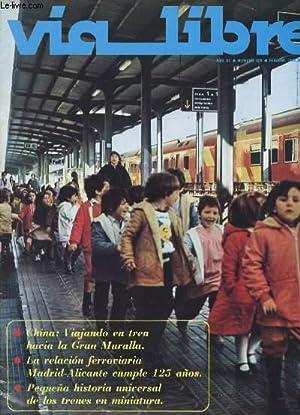 VIA LIBRE, N° 229, AÑO XX, FEB. 1983 (Sumario: El ministro de Transportes inaugura en Valencia ...