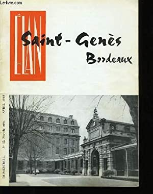 ELAN SAINT-GENES BORDEAUX. N°12 .: COLLECTIF.