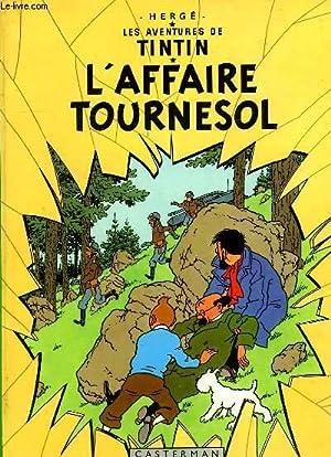 LES AVENTURES DE TINTIN, L'AFFAIRE TOURNESOL: HERGE