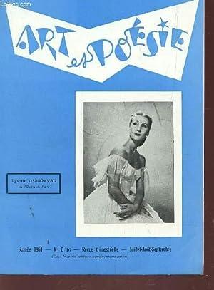 ART ET POESIE - ANNEE 1961 - N°6/16 - JUIL-AOUT-SEPT / AUJOURD'HUI ET DEMAIN PAR H. MEILLANT - ...