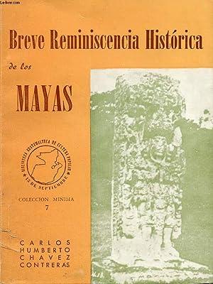 BREVE REMINISCENCIA HISTORICA DE LOS MAYAS: CHAVEZ CONTRERAS CARLOS HUMBERTO