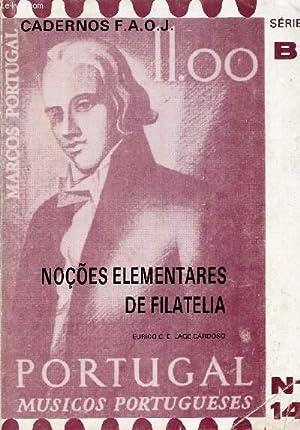 NOÇÕES ELEMENTARES DE FILATELIA: LAGE CARDOSO EURICO C. E.