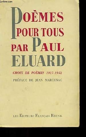 POEMES POUR TOUS.: PAUL ELUARD.